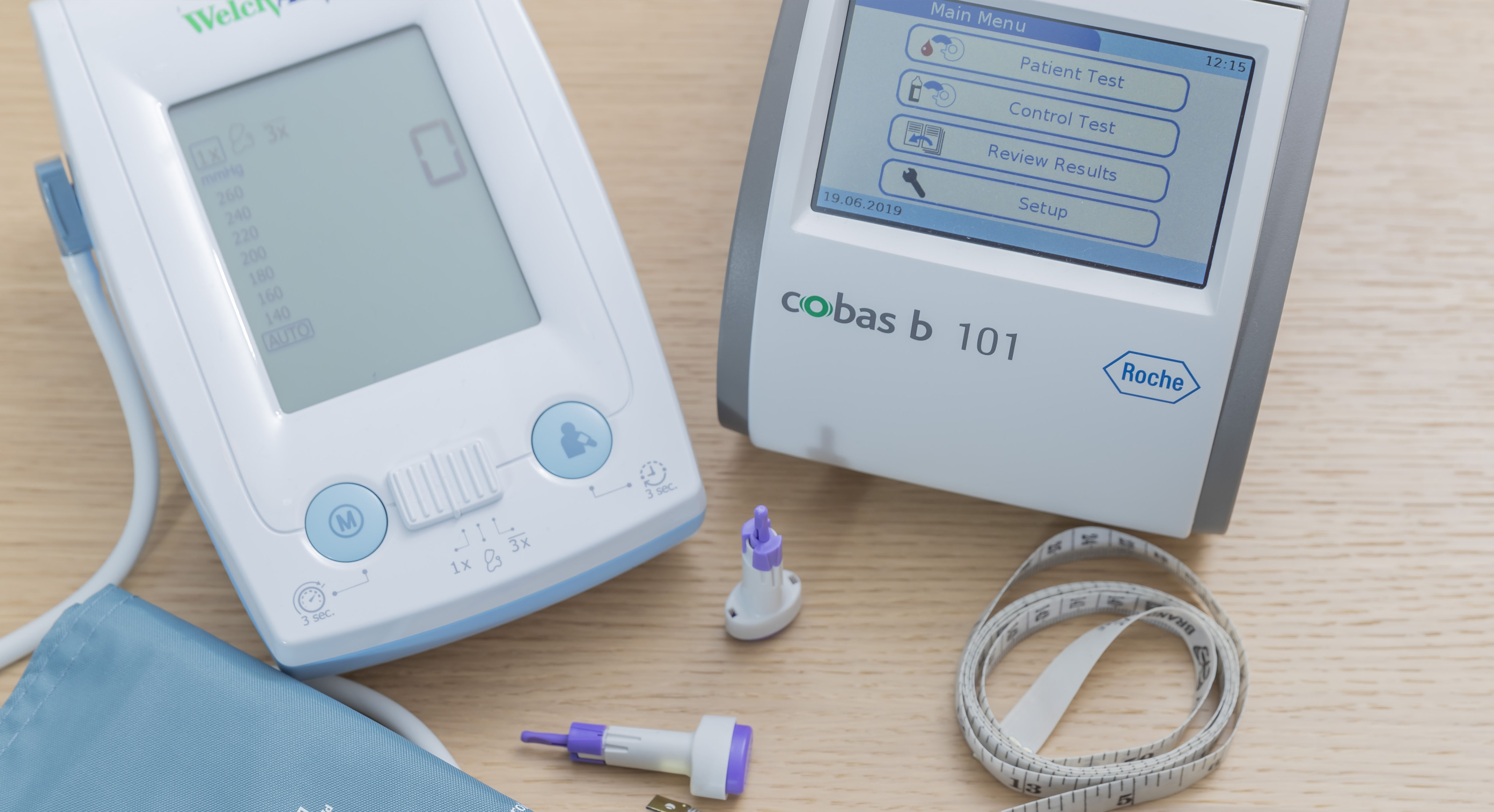 Pure Wellbeing - Health Screening Equipment